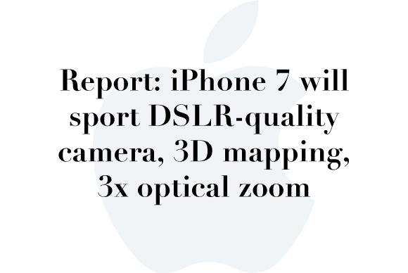 iphone7 rumor camera