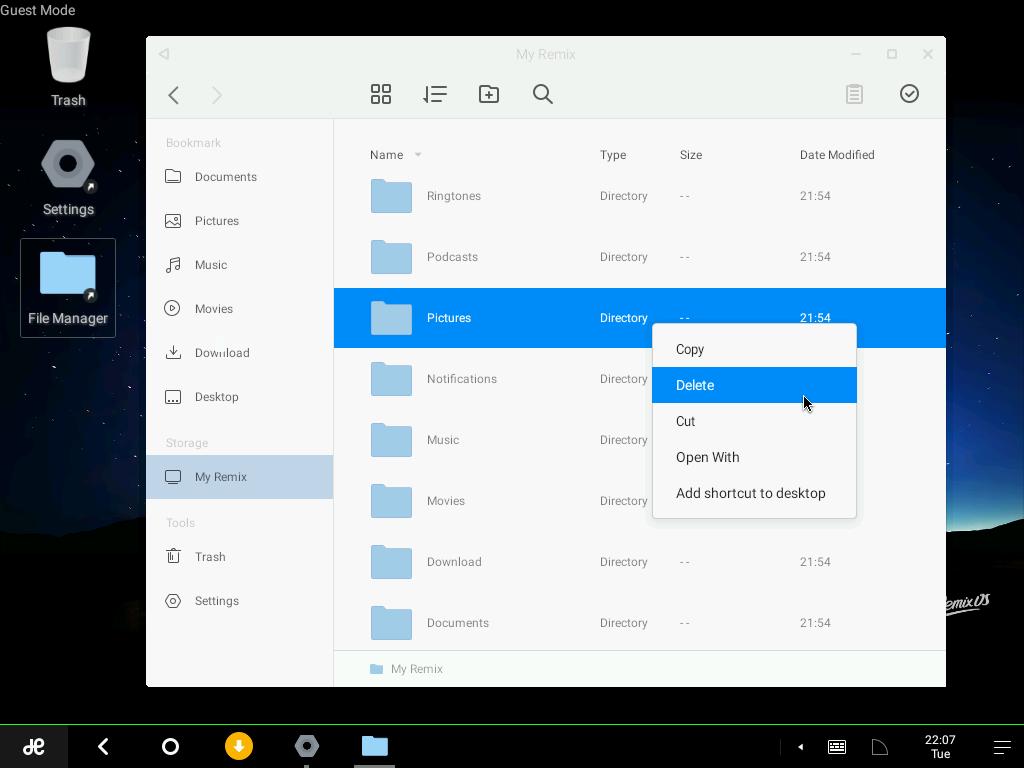 Sistem Operasi Android Yang Mirip Windows Di PC