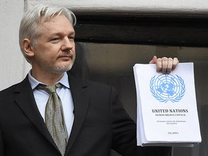 julian assange un report