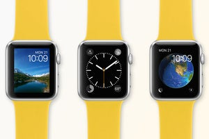 apple watch yellow bands stock