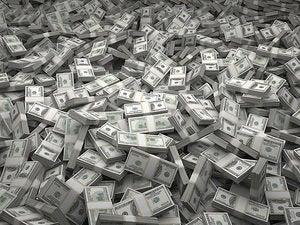cash 100s bills