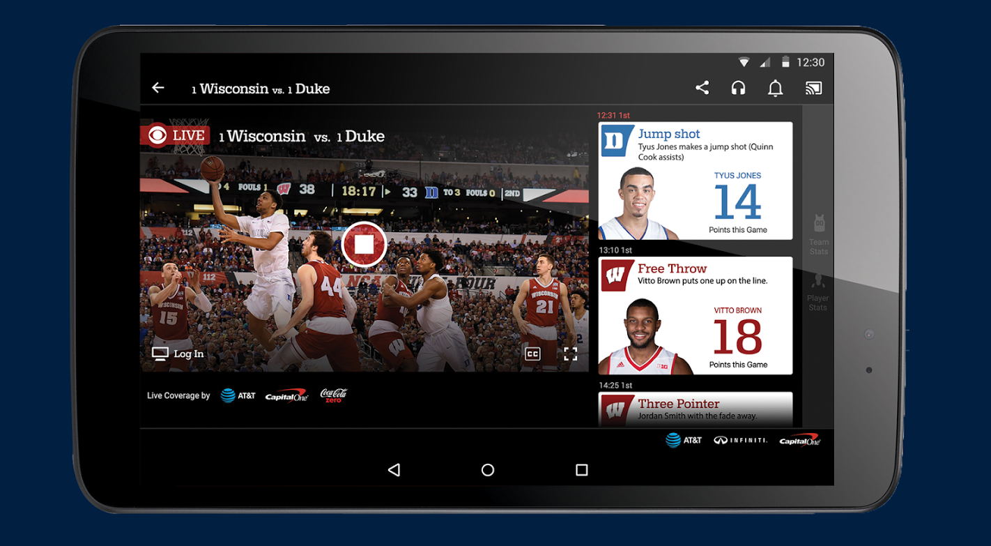 NCAA® March Madness® Live