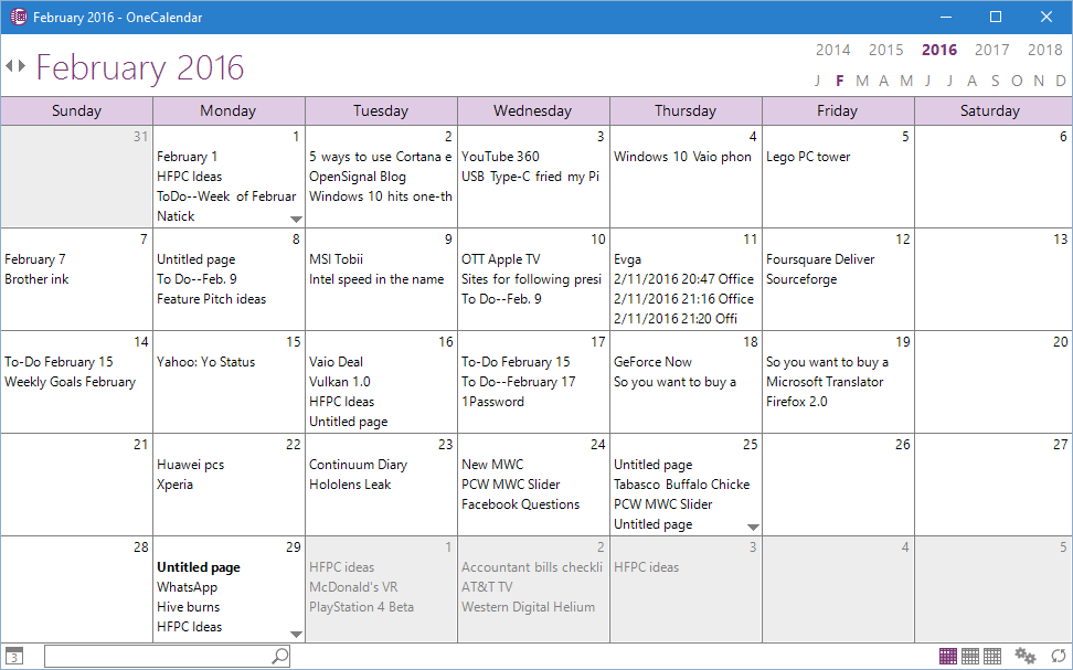 Onetastic add-in for OneNote puts your notes in a calendar   PCWorld