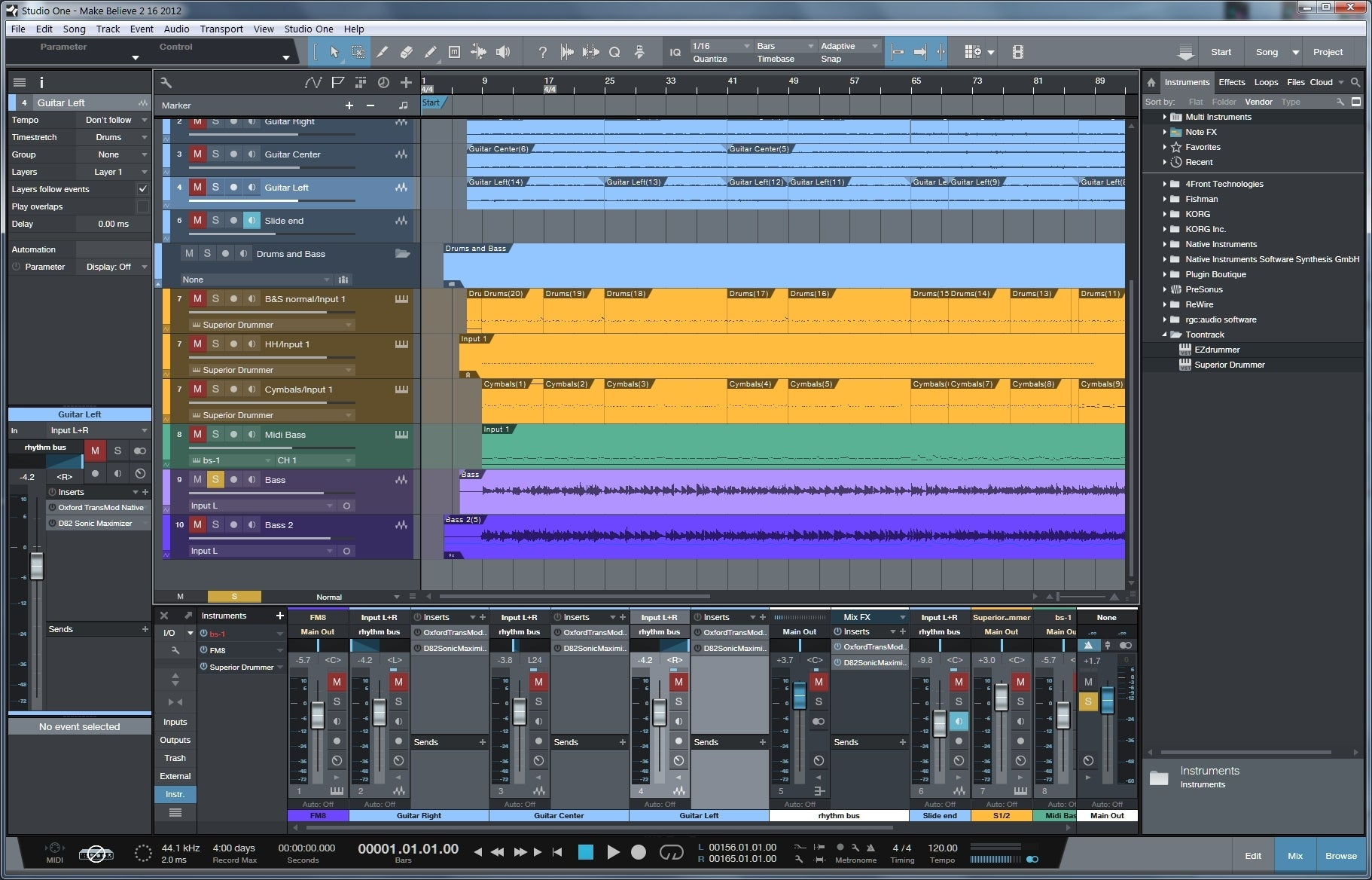 presonus studio one review take your music production to the limit pcworld. Black Bedroom Furniture Sets. Home Design Ideas