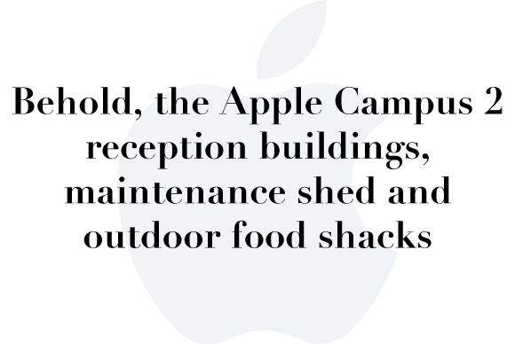 apple campus 2 reception