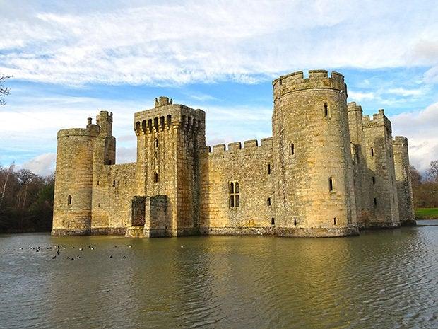 bodium castle fortress