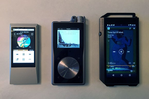 Hi-res digital audio player roundup. Players from Astell&Kern, Pioneer, and Questyle face-off.