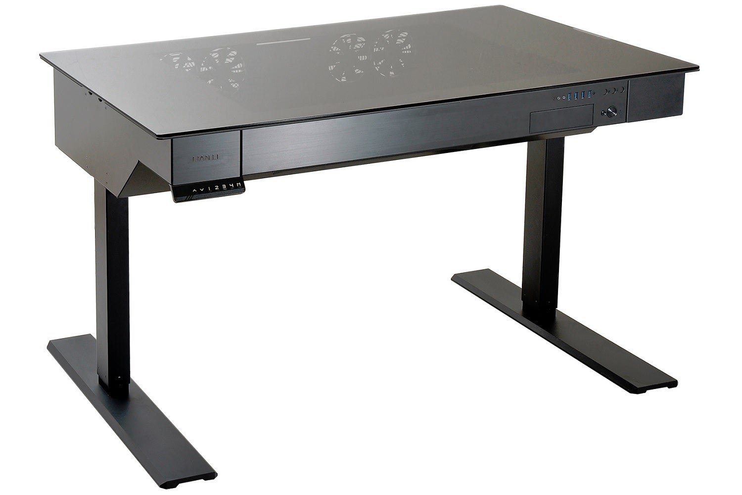 Lian Li 39 S Wild Motorized Standing Desk Doubles As A Case