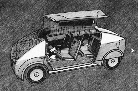 motortrend apple car sketch