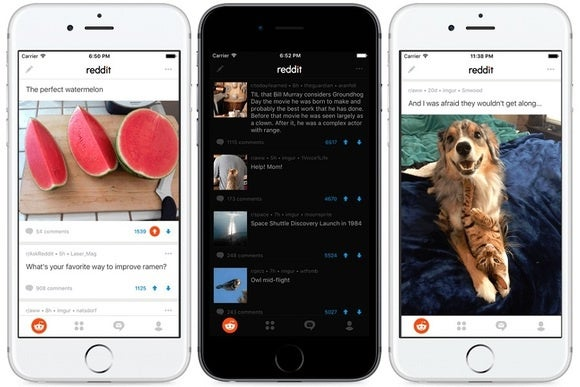 It's 2016, and Reddit just launched official iOS and Android apps