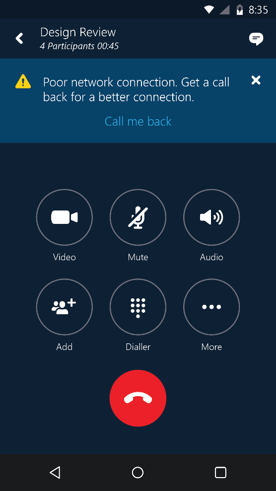 Microsoft upgrades Skype for Business for Android, iOS ...