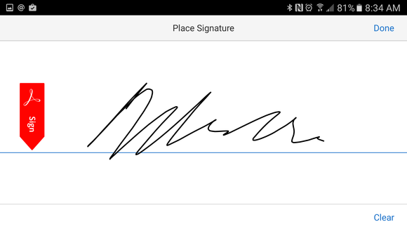 how to add electronic signature to adobe pdf