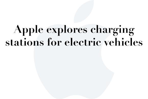 apple car charging station