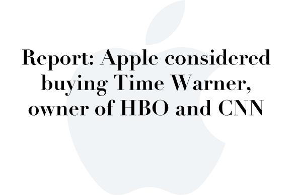 apple time warner