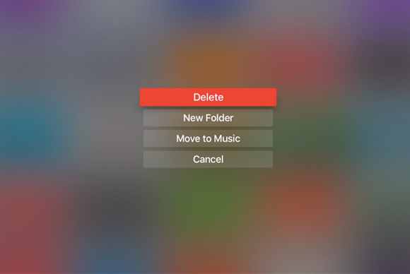 apple tv unwanted apps