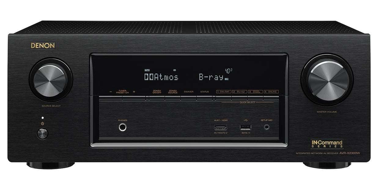 denon and yamaha refresh their av receiver lineups. Black Bedroom Furniture Sets. Home Design Ideas