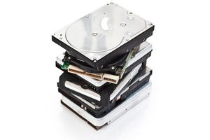 hard drive stack thinkstock