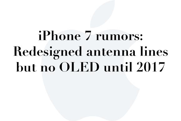 iphone 7 rumors may