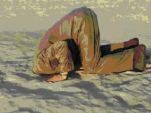 buried head