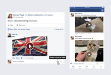 Facebook's video comments could draw in younger users