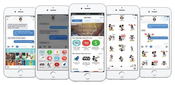 Apple will feature an iMessage Store where customers can discover brand apps