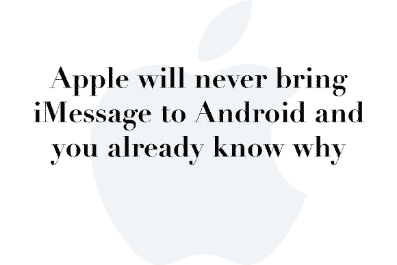 no imessage android