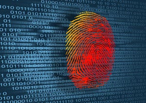 thumbprint with binary