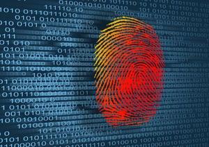 thumbprint with binary