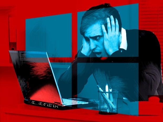 windows trouble controversy crash problem hacked