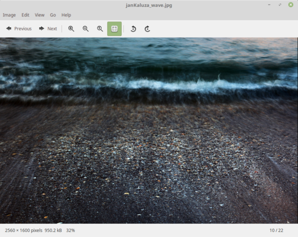 Linux Mint 18 Xviewer