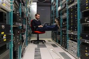 data center stock datacenter private cloud