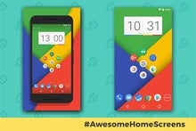 Awesome Android Home Screens: The Googley Hexagon
