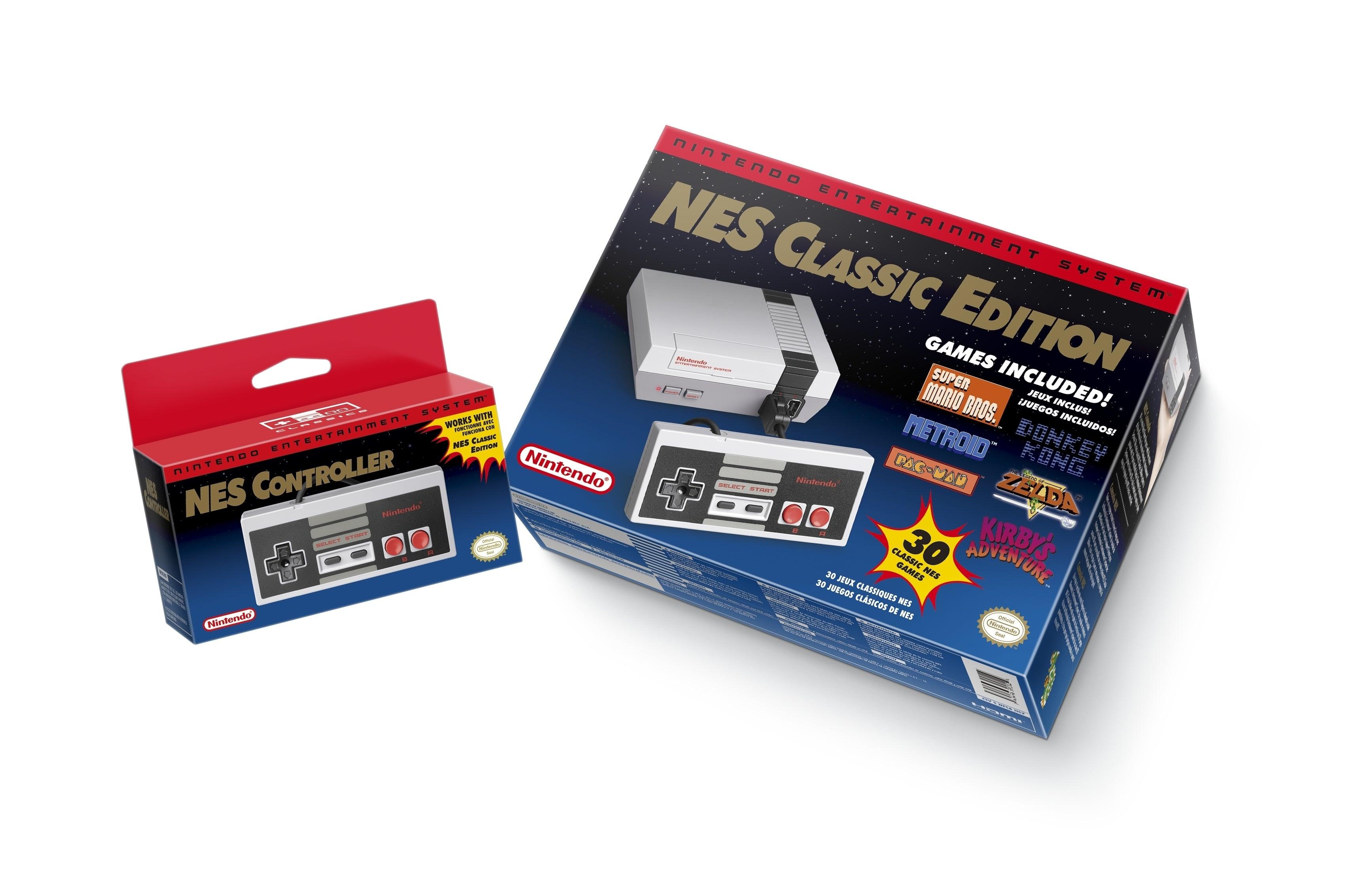Mini NES llega al mercado