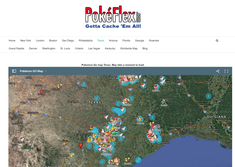 New Pokmon Go Maps Show You Where To Catch 39em All  PCWorld