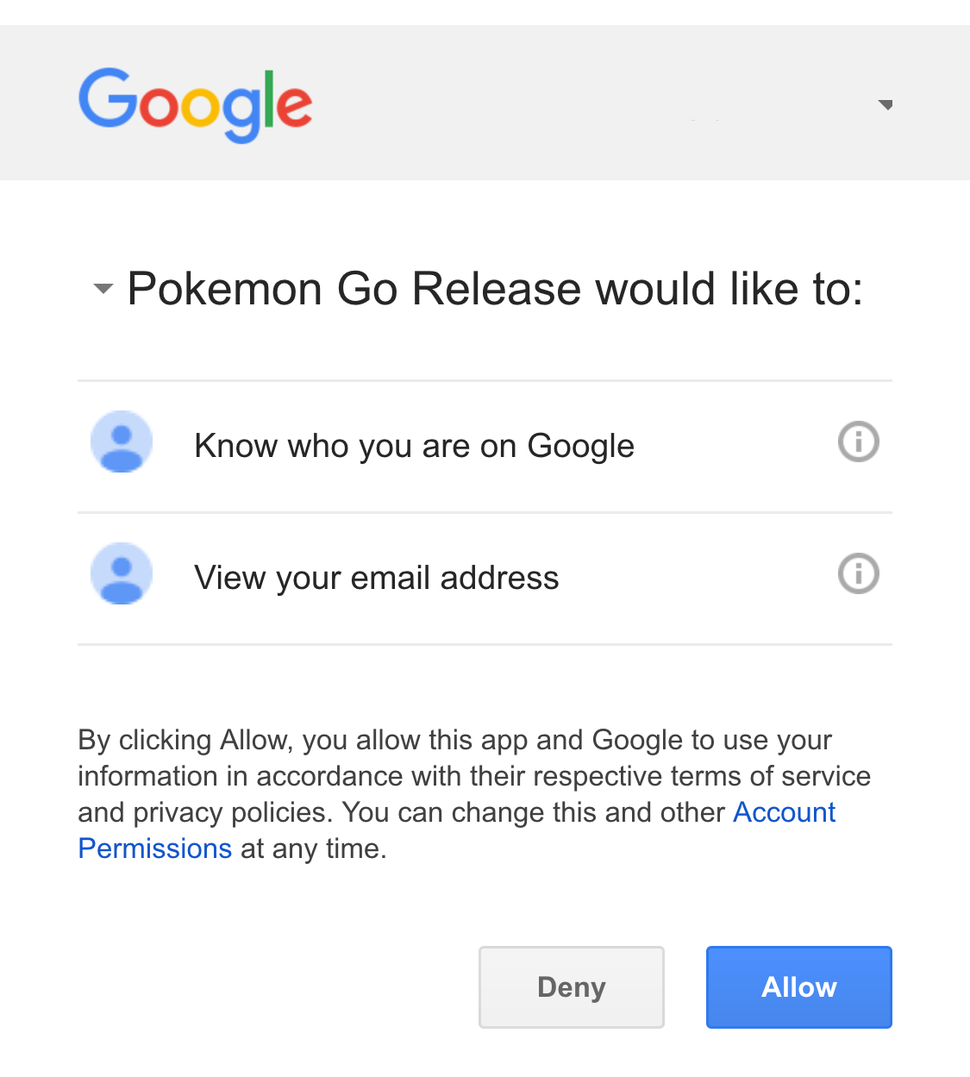 It S Not Okay For Pokemon Go To Have Full Access To Google Accounts Journal Recorder