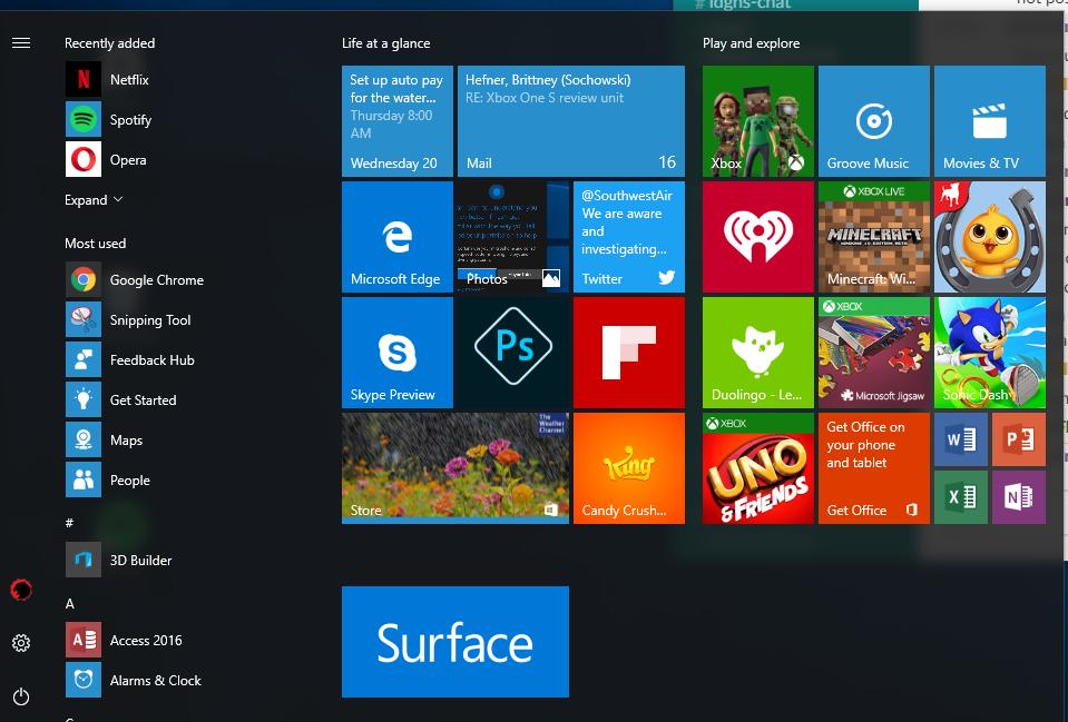 Windows 10 anniversary update review cortana edge overshadow windows
