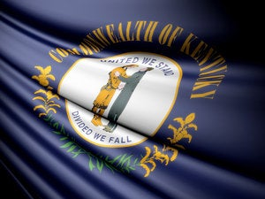 State flag of Kentucky