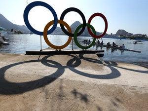 rio 2016 olympics logo rowing