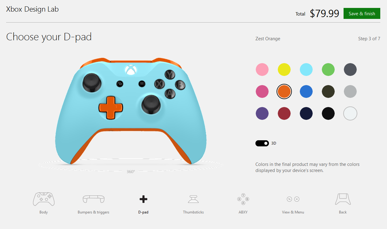 Xbox One S controller ...