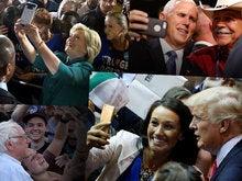 Selfie fits modern politics like a handshake