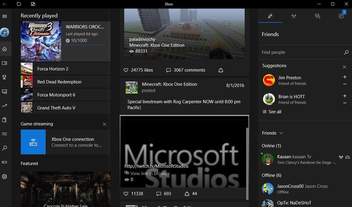 Microsoft Xbox acquires Beam game streaming service, embracing alternative to Amazon's Twitch