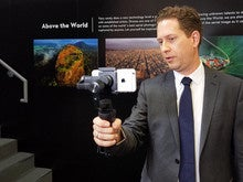 DJI's handheld gimbal promises cinematic images from smartphones