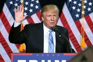 Donald Trump uses an iPhone with a single app: Twitter