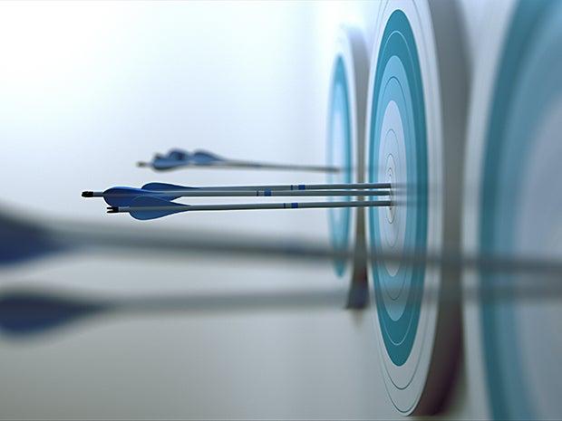 arrows target attack