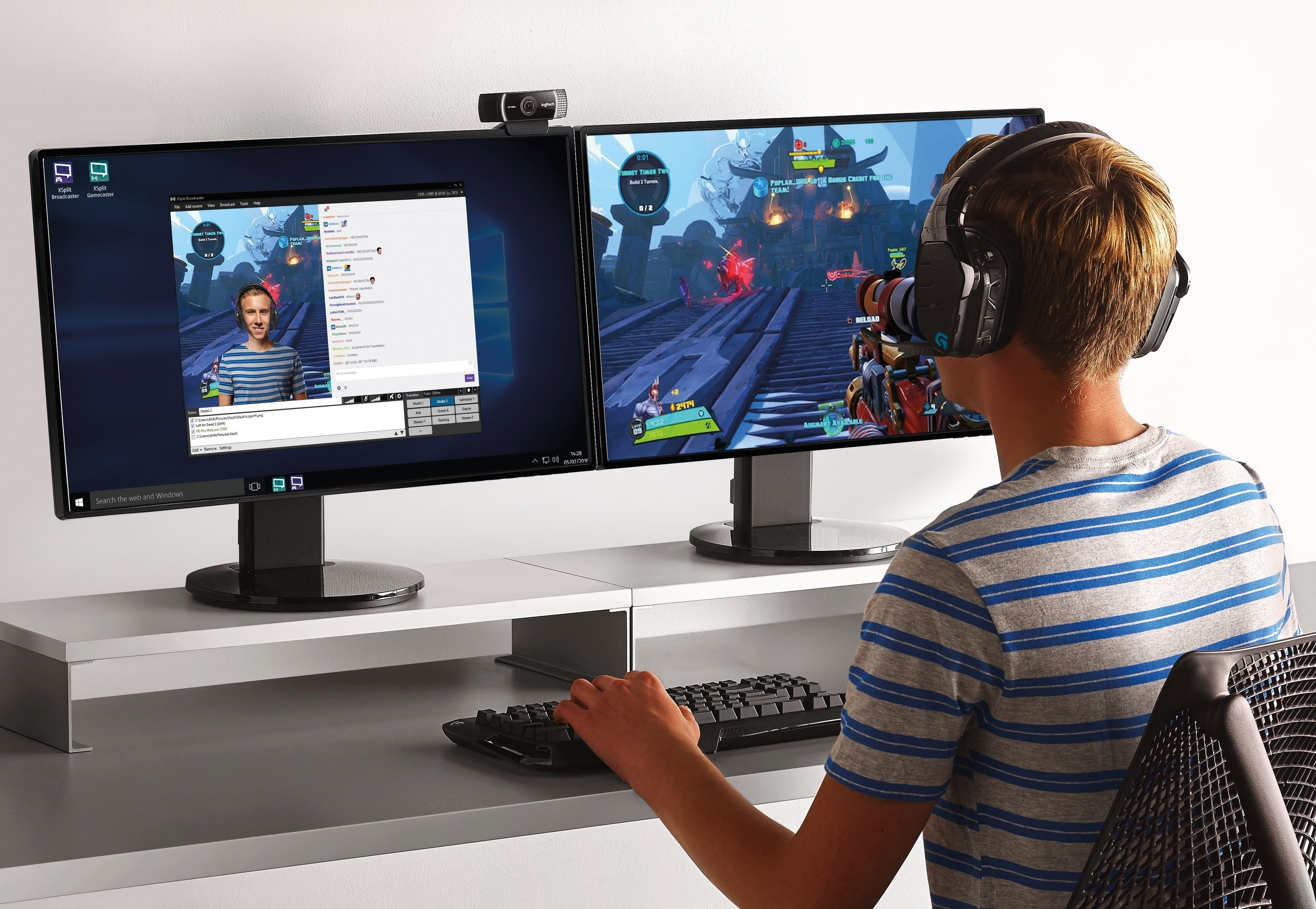 Logitech C922 Pro Stream Webcam Announced