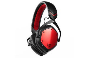 V-Moda Crossfade Wireless with red shields