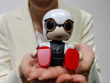 Toyota's cute Kirobo Mini robot will chat with you