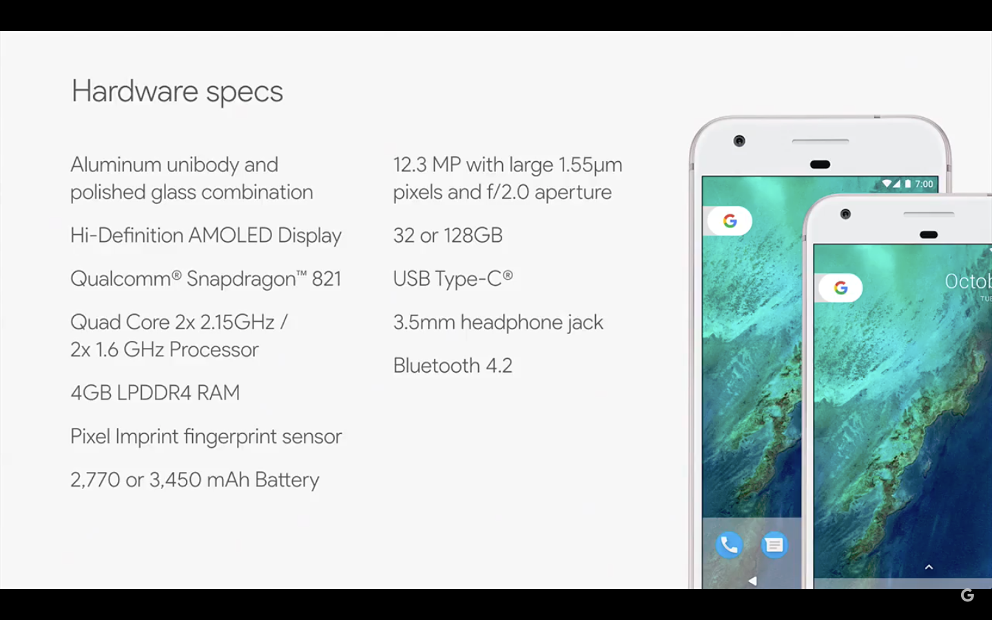Google Launches Two Pixel Phones The Showcase For Google