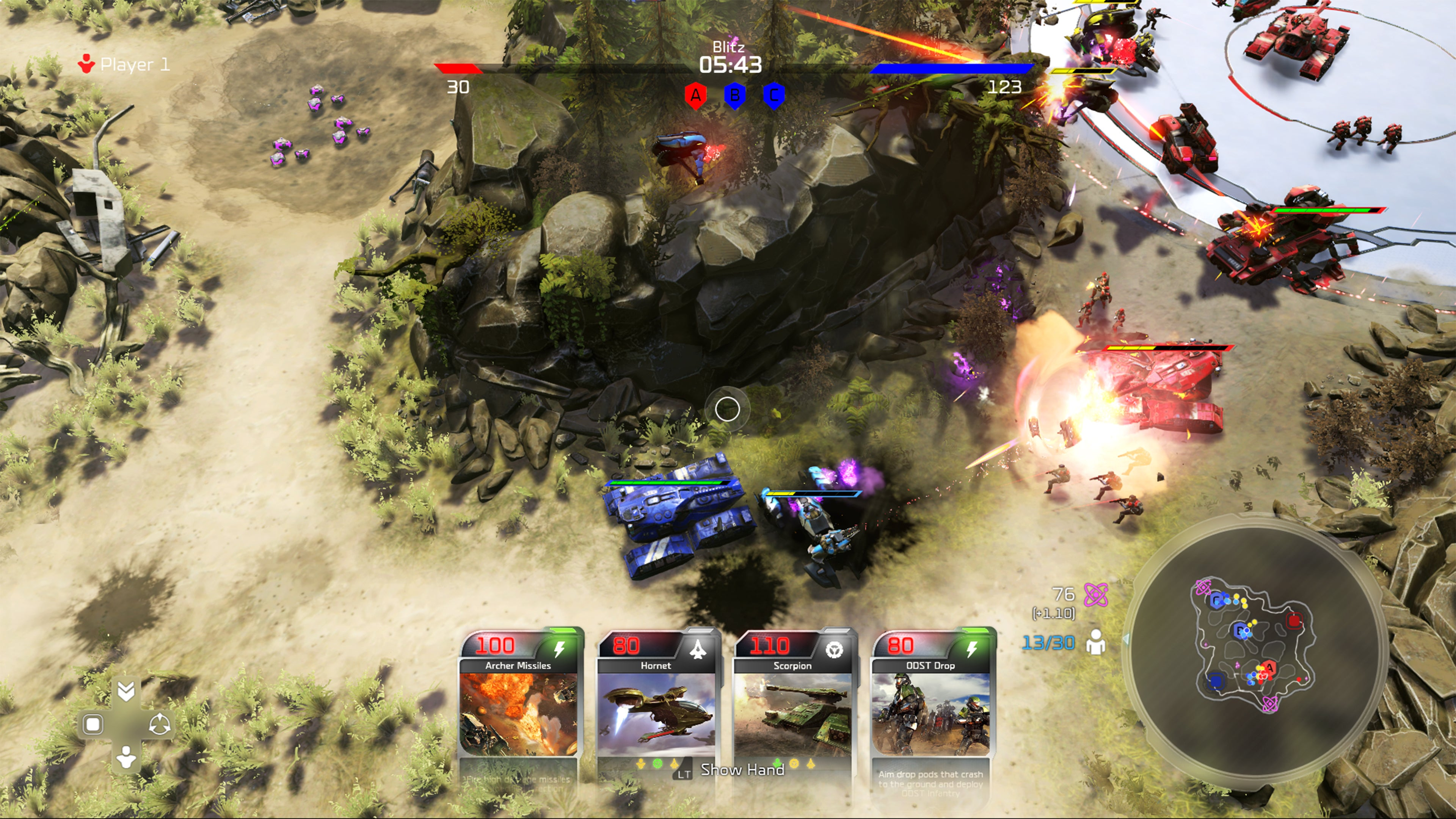 Halo Wars 2 Blitz Multiplayer Gameplay