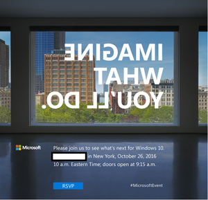 microsoft surface invite